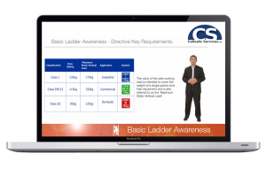 Callsafe Services basic ladder awareness screen